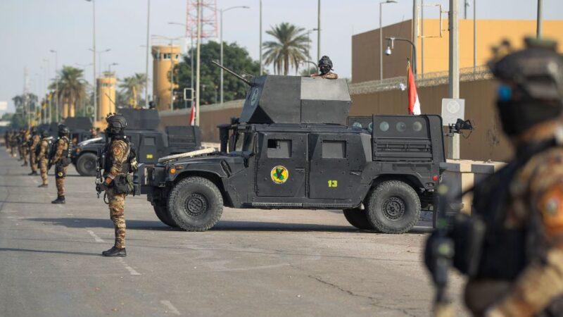 駐伊拉克大使館頻遭攻擊 傳美將撤軍關使館