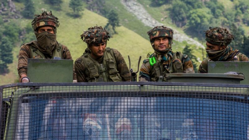 中印對峙進入「步槍射程」 中共交還5印度人
