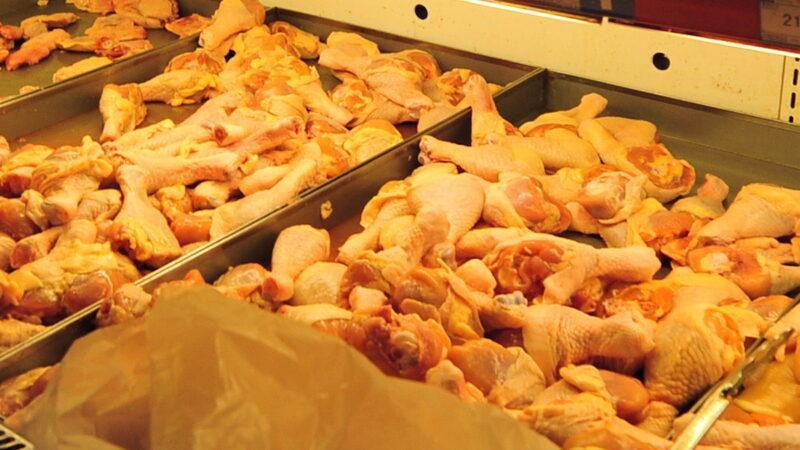 廣東掩蓋凍雞翅病毒陽性 反熱炒進口鮭魚帶毒