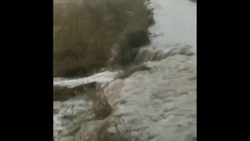 松花江2號洪水形成  黑龍江大壩決口淹7萬畝水稻