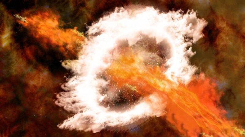 350万年前银河系中心发生过超级核爆?!