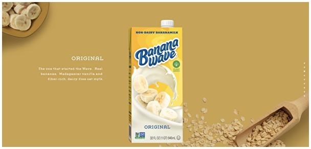 Banana Wave香蕉奶引领替代奶新潮流