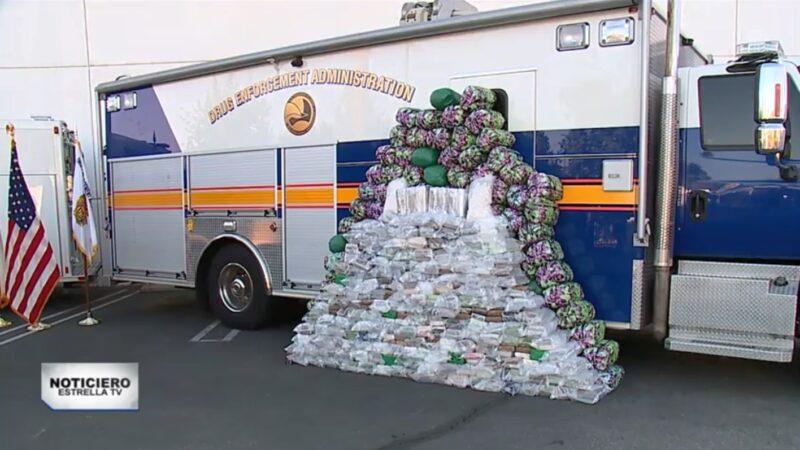 美緝毒局查獲約720萬美元冰毒 「足讓美墨民眾吸食」