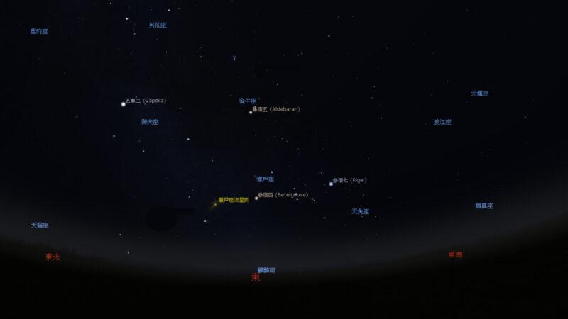 獵戶座流星雨20日達極大期 視野開闊無光害即可觀賞