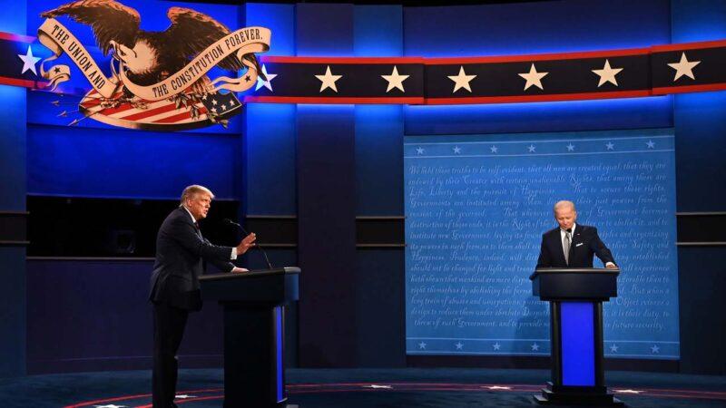 美大选辩论 川普推特同步更新呛拜登