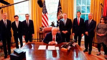 川普斡旋 蘇丹承認以色列、加入美國反恐聯盟