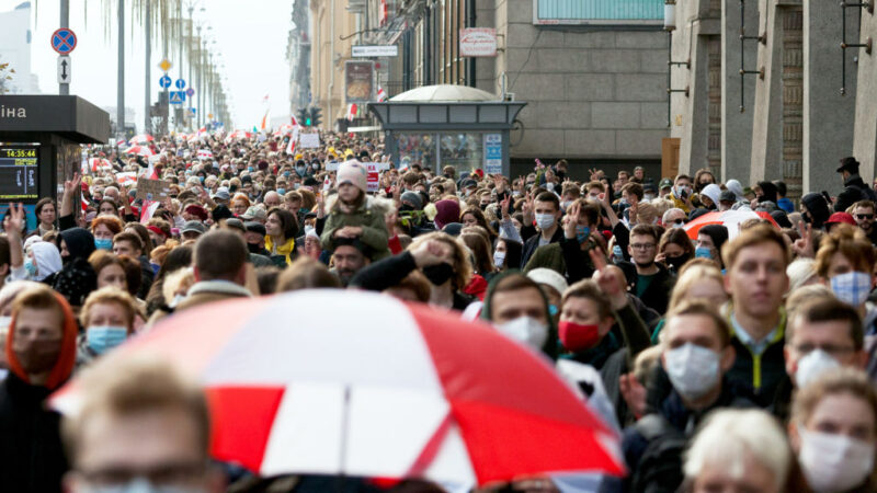 白俄罗斯反对派发动罢工 要求卢卡申科下台