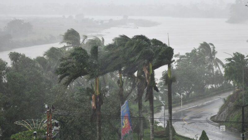 颱風莫拉菲襲越南中部 釀7死45失蹤逾50萬人撤離(視頻)