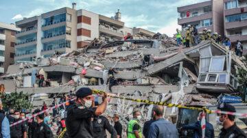 爱琴海7.0强震引发海啸 土耳其希腊22死近800伤