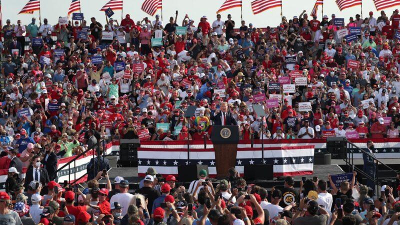 【重播】川普在佛州大选集会上演讲(同声翻译)