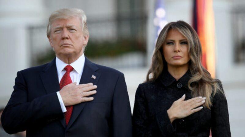 美國大選敏感時刻 川普與第一夫人檢測呈陽性
