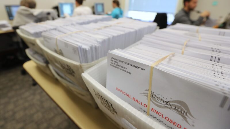 紐約眾多選民投訴 缺席選票回函信封姓名地址全錯
