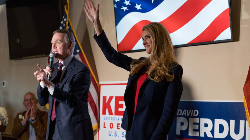 乔州2场参院决赛  民主党鼓动75万人申请邮寄选票