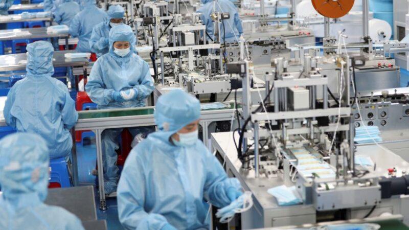 """中国今年GDP三分之二来自抗疫 网友斥""""吃人"""""""