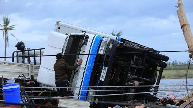 今年最强台风天鹅侵袭菲律宾 酿16死3失踪