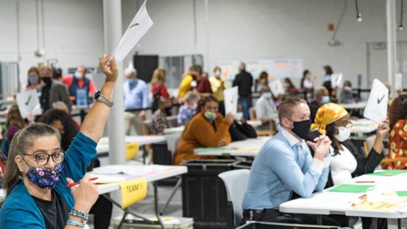 乔州女子路边发现投票机 州务卿:正在调查