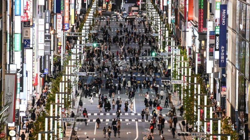 东京确诊病例破4万大关 日政府考虑3周集中防疫