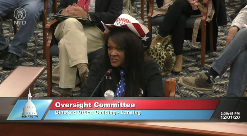 【密歇根州公聽會】非裔博默爾:這是處心積慮的舞弊!