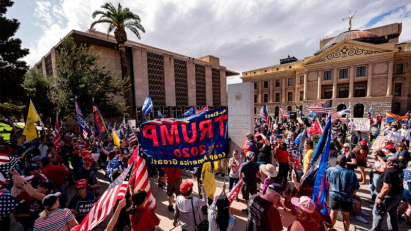 亚利桑那州议会要求审计选举设备 川普大赞