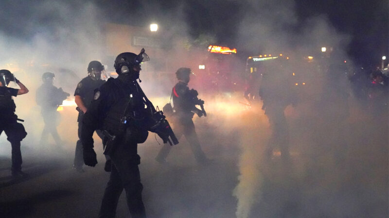攻擊警察 波特蘭左翼極端分子建新「自治區」