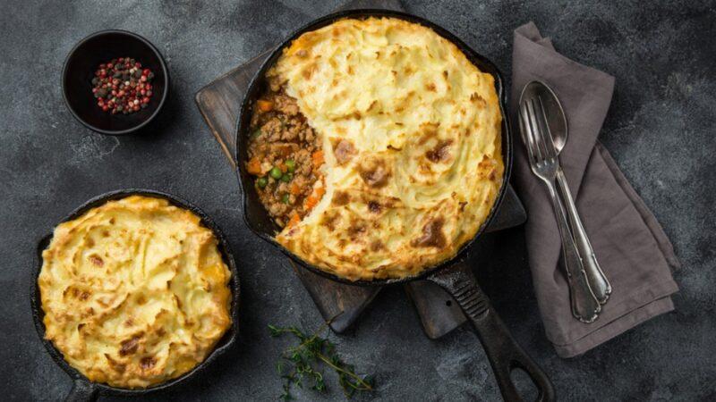 牧羊人派 傳統的英國料理