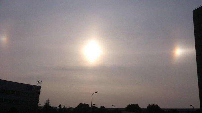 中國異象頻現 三太陽高掛北京上空2小時(視頻)