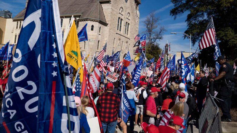 川普团队提出新诉讼 要求乔州重办大选