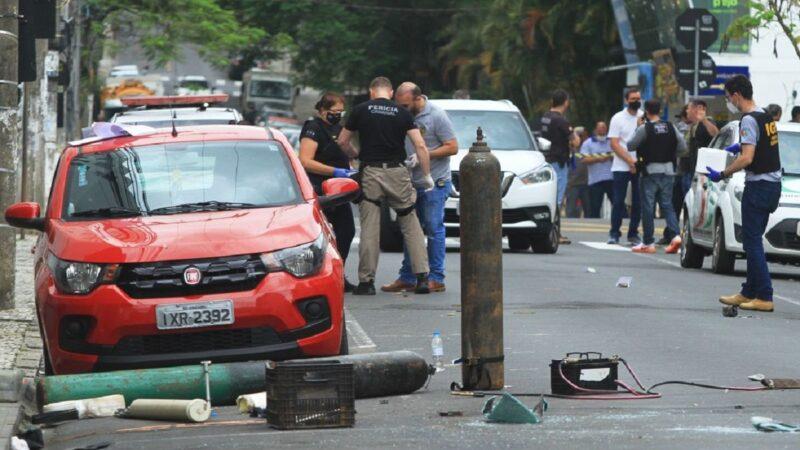 巴西歹徒围城封路攻警局 持重武器抢银行(视频)