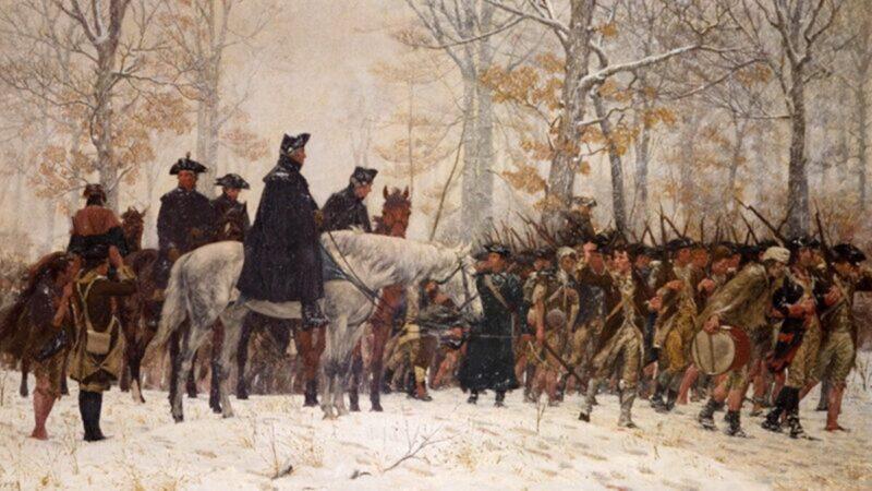 【闱闱道来】华盛顿将军故事:福吉谷 雪地里的独自祈祷