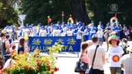新西兰23场圣诞游行 法轮功队伍广受欢迎