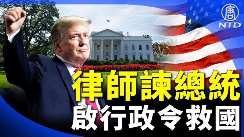 【晚间新闻】两大律师谏启行政令!总统可行使特权救国