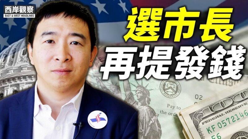 【西岸观察】杨安泽选纽约市长 再提发钱