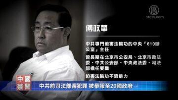 【禁聞】中共前司法部長犯罪 被舉報至29國政府