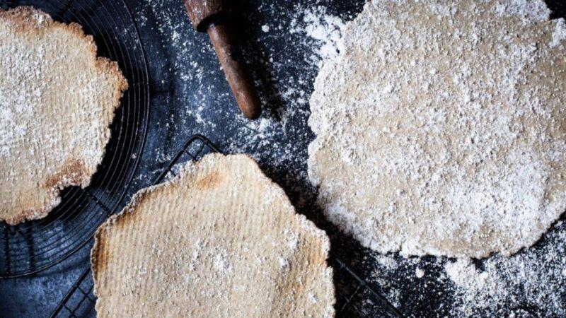 自制燕麦薄脆饼