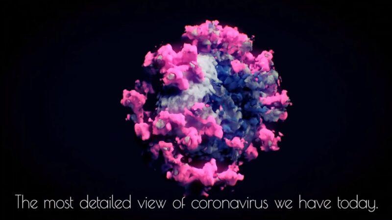 全球近億人感染 中共病毒完整3D影像曝光