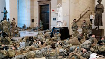 驻华府国民卫队受粗暴对待 三州长下令撤兵