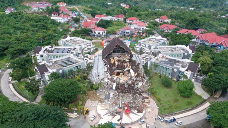 印尼6.2強震增至56死820多傷 搜救工作持續