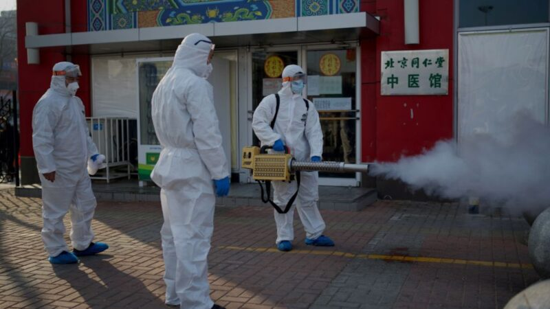 中國21省市爆疫情 北京再有6社區被封