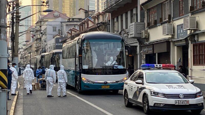 上海疫情升級 2小區被清空隔離 多人癒後復陽