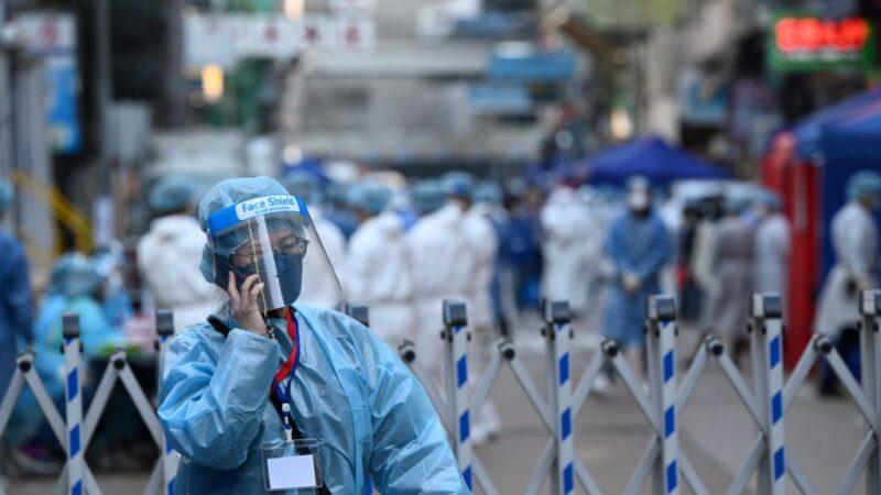 香港檢疫擴大「封區」居民漏夜逃離