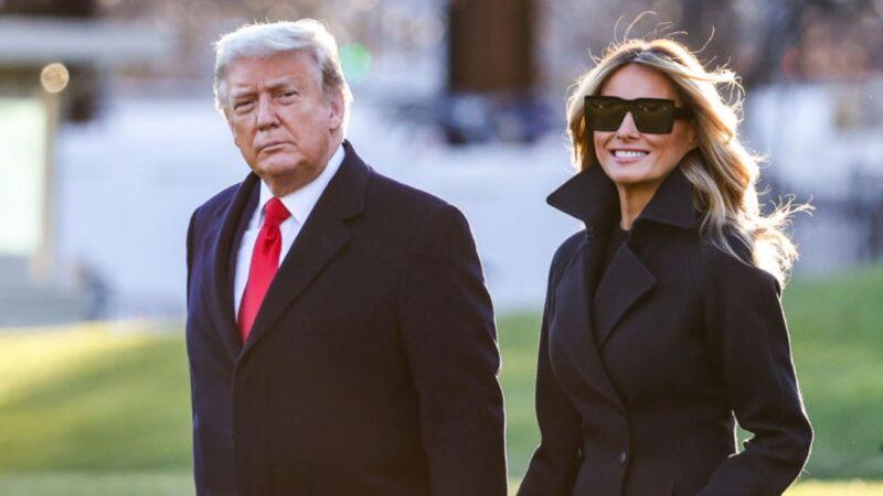 梅拉尼娅告别演说未提拜登 未邀拜登夫人参观白宫