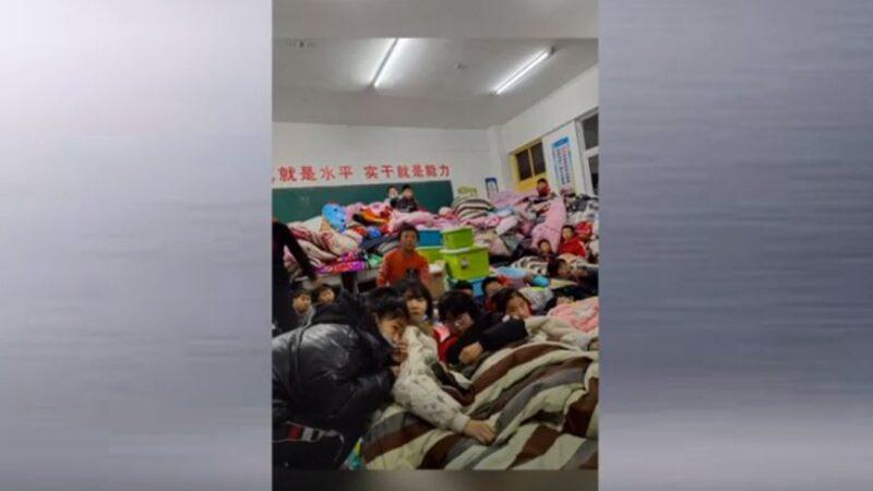 河北南宫隔离点一片混乱 民众忧群聚感染(视频)