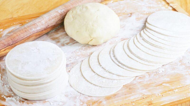 【美食天堂】3種擀餃子皮方法~餃子這麼和麵最好吃!