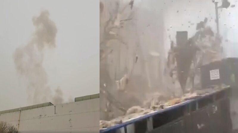 突发!天津港保税区发生爆炸 至少1死7伤
