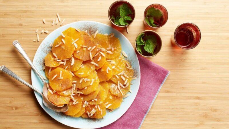 摩洛哥橙子加肉桂蜂蜜 优雅而健康的早餐