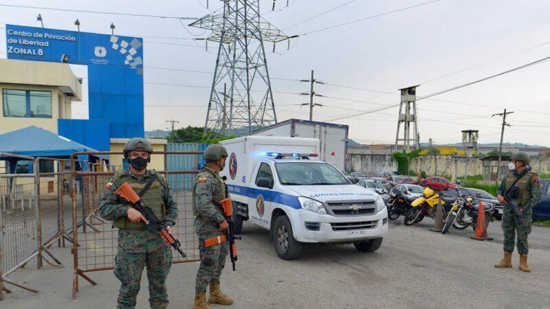 震惊!厄瓜多尔3座监狱同时暴动 至少62囚丧命