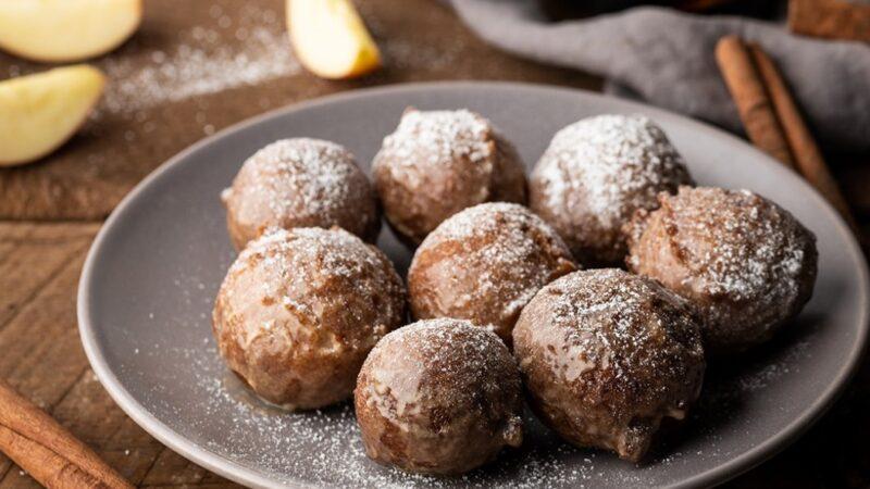 自製蛋糕甜甜圈 家庭聚會傳統美食