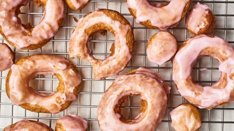 泡芙釉面甜甜圈 懶人的幸福早餐