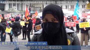 罗兴亚族人权活动人士  谴责中共幕后黑手