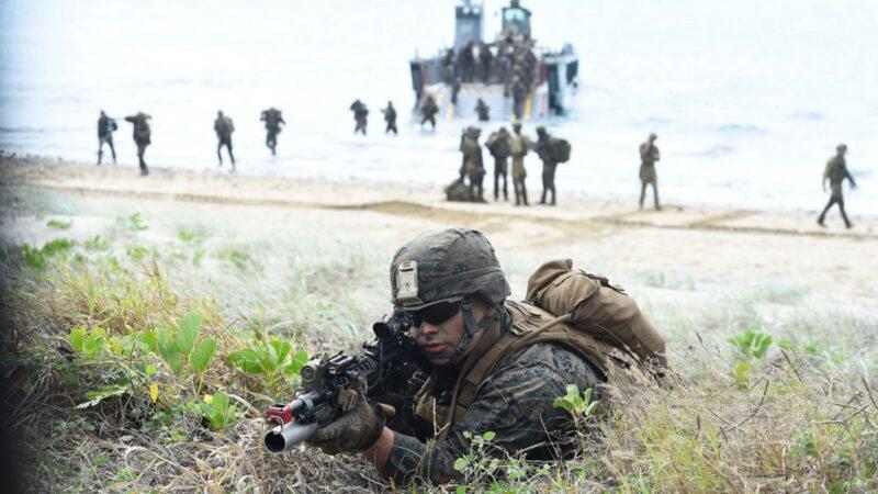美海军陆战队拟调整战略 将中共定为头号威胁